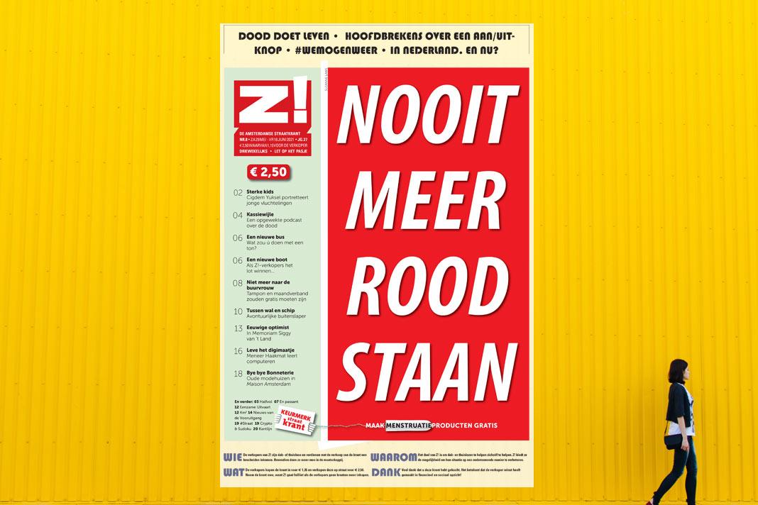haags straatnieuws per ongeluk in Z! Amsterdamse straatkrant